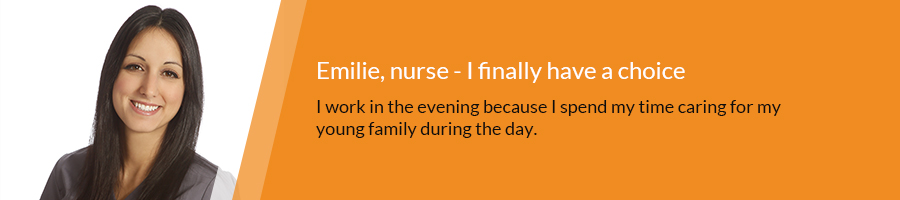 testimony of Emilie, Nurse