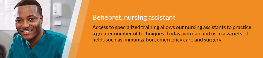 Testimony of Behebreth, nursing assistant